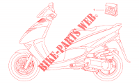 Decal set para Aprilia Leonardo 1998