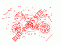 Decal para Aprilia RS 125 REPLICA 4T ABS E4 2018