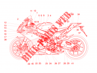 Decal para Aprilia RSV4 1000 Racing Factory L.E 2017